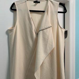 Cream blouse NWT
